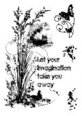 Woodware - Sparkly Grasses - Clear Magic Single Stamp - FRS688